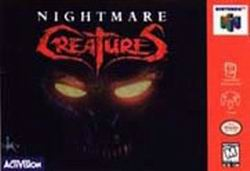 Nightmare Creatures (USA) Box Scan